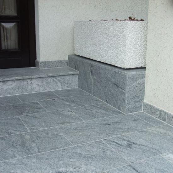 Naturstein Außen Granit Terrazzo Treppen Bodenbeläge Fensterbänke - Stein fliesen außenbereich